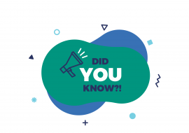 Image with writing stating 'Did you know?'